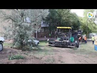Аким проверил ремонт дорог в 9мкр