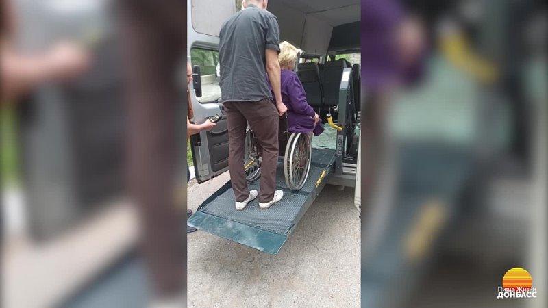 Благотворительный автобус в деле Пища Жизни Донбасс