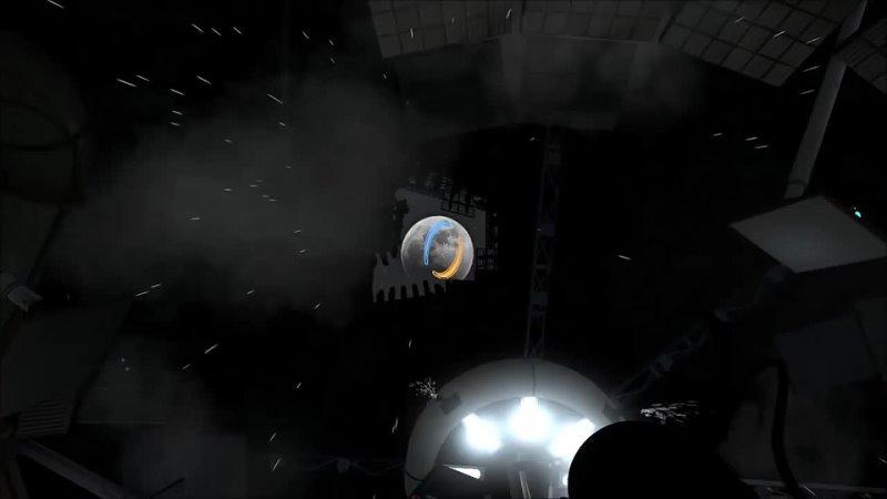 Печальный конец игры Portal 2 720p