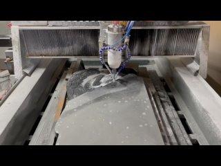 Видео от URALFREZER производим ЧПУ для МРАМОРА и ГРАНИТА