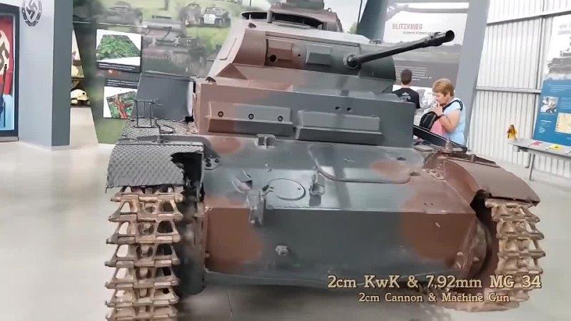 Немецкий ЛЕГКИЙ Танк Панцер II II Танки Вермахта Второй Мировой История танкостроения