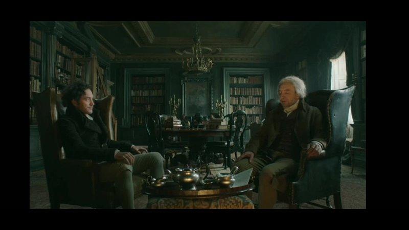 Фрагмент из сериала Джонатан Стрендж и Мистер Норрелл февраль 1815