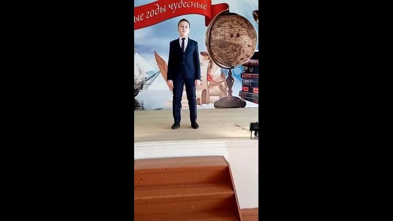 Абдуллов Марат 12 лет шк 76 Э Асадов Россия начингалась не с меча mp4