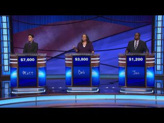 Jeopardy! July 27, 2021