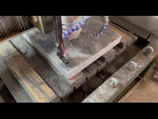 Vídeo de URALFREZER производим ЧПУ для МРАМОРА и ГРАНИТА
