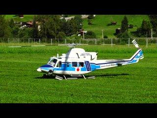 Радиомодели Вертолет BELL 412 JAPAN COAST GUARD