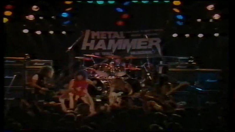 Agent Steel 144 000 Gone Live At Metal Hammer Festival 1986 in Bochum Germany