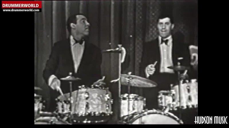 Buddy Rich Jerry Lewis DRUM BATTLE 1955