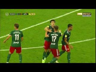 80' Первый гол @rifatzhemaletdinov в ворота тульского «Арсенала»