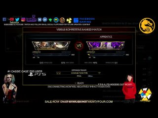 Mortal Kombat 11 Ultimate PS5: Lets Play MK 11 KL Vs Laggers LIVE : ft #1 Cassie Cage User on PS5