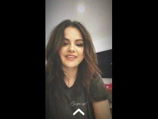 Selena via Instagram Stories