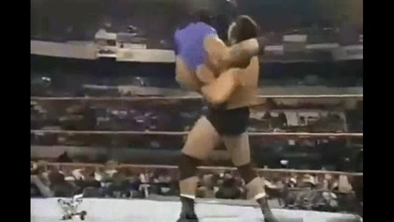 WWF 1998 Dan Severn vs Savio Vega Дэн Северн против ниггера Савио Вега 11DeadFace