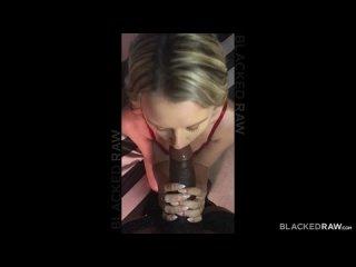Не зря впустила в свою молодую тугую киску. (HD 1080 Blacked, Interracial, Blonde, Hardcore)