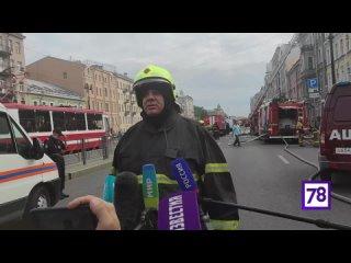 1-й заместитель начальника ГУ МЧС по СПб Дмитрий Легенький