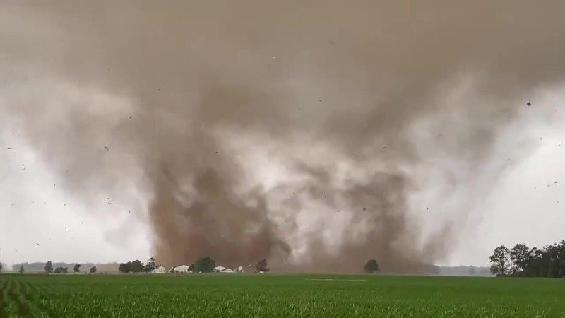 Portland Indiana tornado 18 june 2021