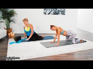 MommysGirl Vanna Bardot Has A Hardcore Fingering Yoga Training With Hot MILF Ryan Keely