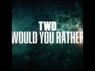 «The Walking Dead» Finale New Season 11A Cast.