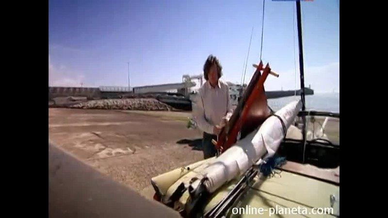 Top Gear Топ Гир пересечения английского канала во Францию используя модифицированный пикап Toyota 1