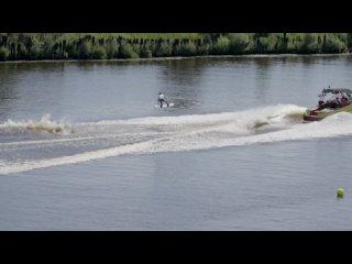 Чемпионат России по воднолыжному спорту 2021 вейбординг катер Калининград
