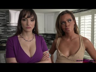 Aila Donovan and Lexi Luna - I Will Not Look At My Stepmoms Tits [All Sex, Hardcore, Blowjob, Gonzo]