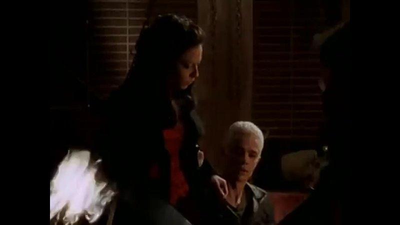 Баффи истребительница вампиров Баффи бьет Джайлза Не оставляй меня