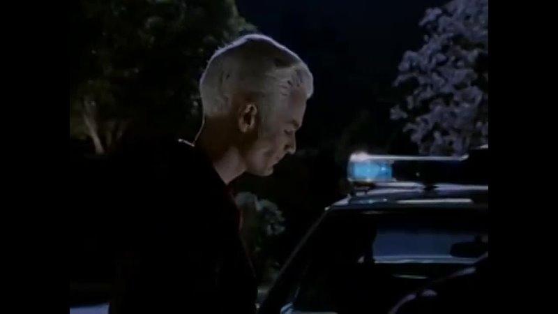 Баффи истребительница вампиров Спайк предлагает Баффи союз против Энджела