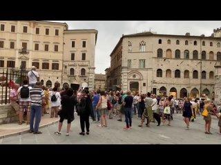 Италия. Перуджа. Манифестация 24 июля 2021 года против режима Марио Драги