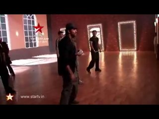 Behind the scenes of Hrithik's rehearsals   Just Dance
