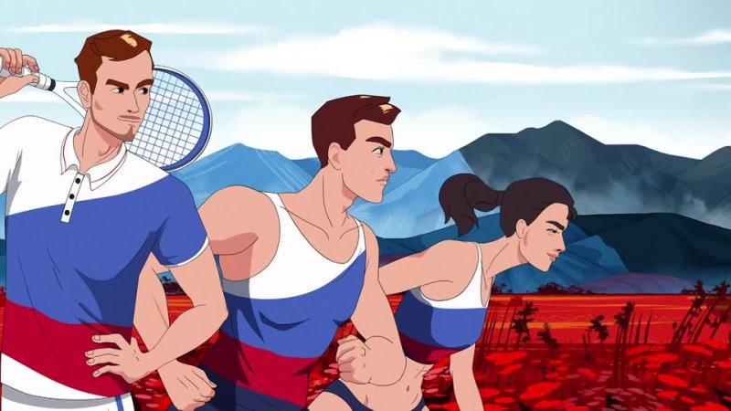 Промо летних Олимпийских игр 2020 для Матч ТВ