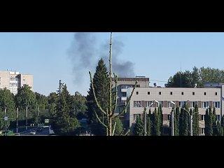 В Новочебоксарске что-то горит