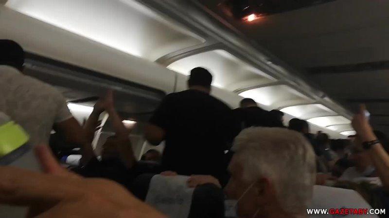 Скандал на борту рейса Минск Тбилиси