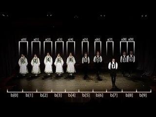 Алгоритмы сортировки в танцах [2] Сортировка слиянием как немецкий народный танец