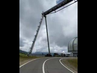 🔭БТА, или «Большой телескоп азимутальный» – рефлектор с главным зеркалом диаметром в 6,05 метров, который сделан в форме парабол