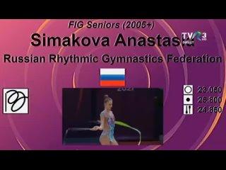 ● Анастасия Симакова - Лента / Irina Deleanu Cup 2021