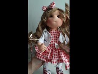 Как же я люблю дарить жизнь таким маленьким, не повторимым малышкам ❤#сделанослюбовью#ручнаяработа#рукоделие#куклыдлядуши#h