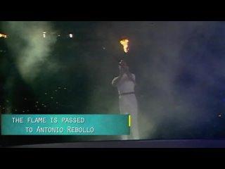 Олимпийский огонь!