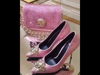 Красивые туфли и сумка