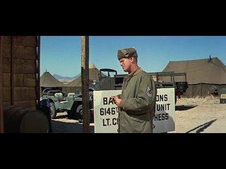"""Рок Хадсон в фильме """"Боевой гимн"""". (Драма,военный,США,1957)"""