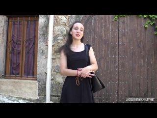 [Jacquieetmicheltv] Amandine's very sensual warm-up