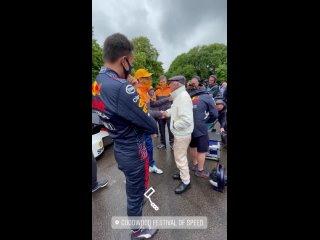 Dan, Alex AND SIR JACKIE STEWART | Goodwood Festival of Speed