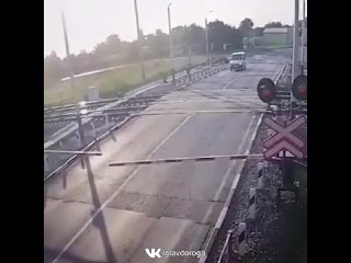 Выехал на переезд