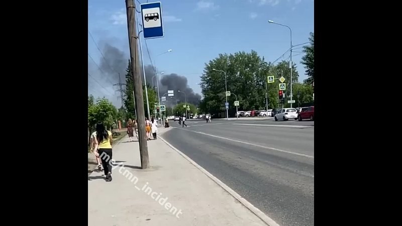Только что в районе ТЭЦ 1 заметили большой пожар Говорят чей то частный дом горит жестко