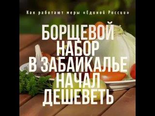 «Борщевой набор» начал дешеветь: как предложенные «Единой Россией» меры работают в регионах
