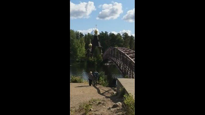Храм апостола Андрея Первозванного на Вуоксе июль 21г