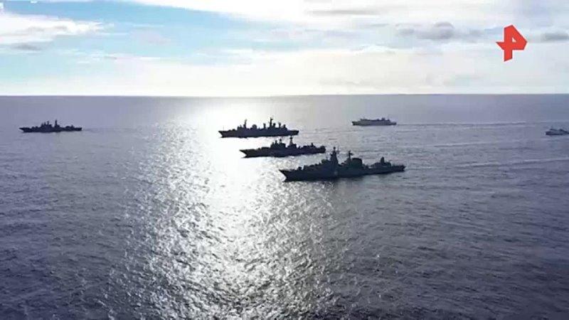 Минобороны начинает крупные учения в центральной части Тихого океана