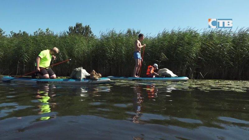 19 07 2021 Активисты Формулы воды и молодежь ЛАЭС очистили от мусора реку Коваши