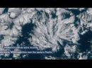 Актиноформные структуры над Тихим океаном 3 июня 2021 г.