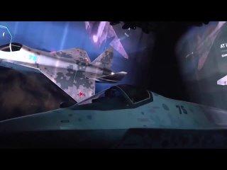 """Презентация нового малозаметного легкого истребителя от """"Сухого"""" (20 июля 2021) :"""