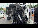 СТРАШНОЕ ДТП произошло 13 июня в Волгограде! Грузовик протаранил маршрутку с пас