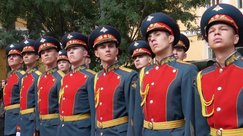 17 07 2021 РТК Забайкалье Присяга личного состава Роты Почётного караула состоялась в Парке Дома офицеров Забайкальского края